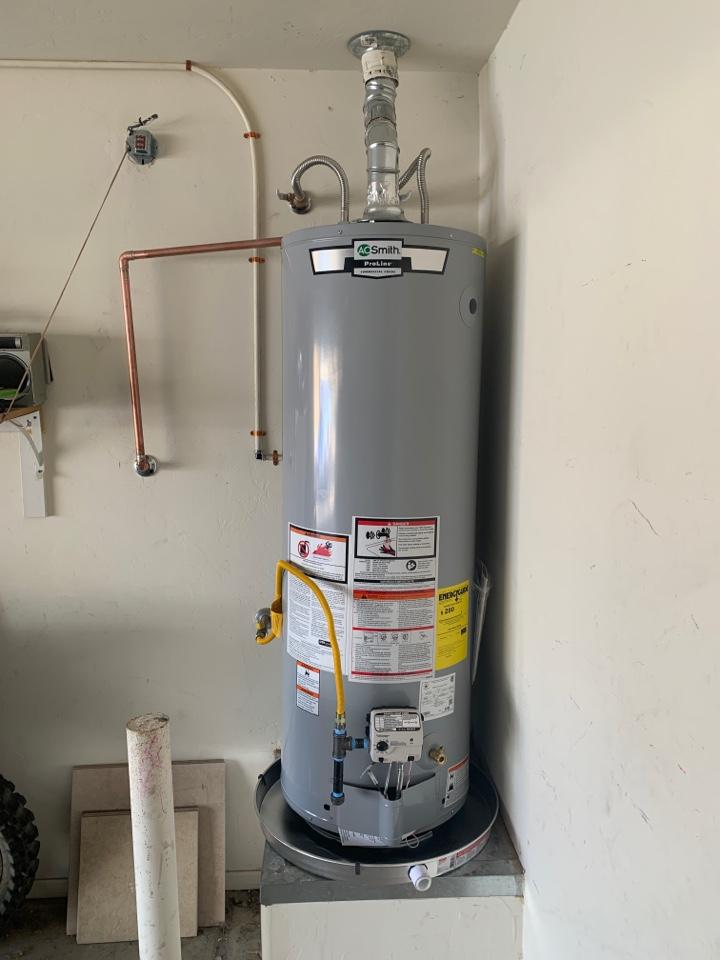 Marana, AZ - Water heater installation Tucson