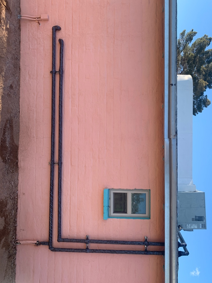 Tucson, AZ - Waterline reroute and water heater install