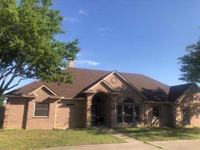 Terrell, TX - Complete roof replacement due to hail and wind damage, customer chose Malarkey shingle -antique brown, very satisfied customer: on time and no problems.
