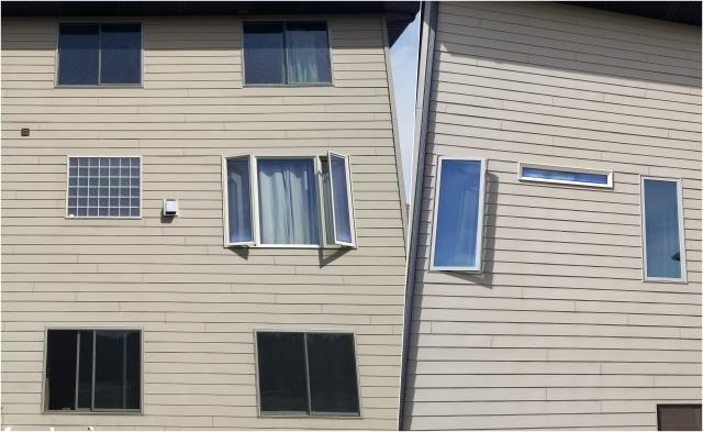 Rapid City, SD - Check out all of these different sized windows we did on this home in Rapid City!
