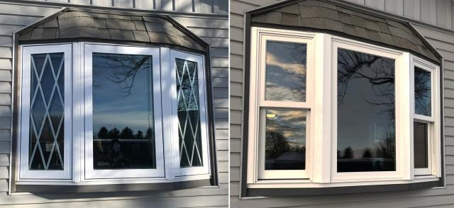 Rapid City, SD - This Rapid City, SD home upgraded thier windows to our Energy Efficient Fibrex Windows!