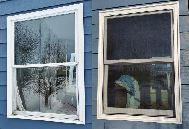 Hermosa, SD - This Hermona, SD home upgraded their windows to our 5 Star Energy Efficient Fibrex Windows!