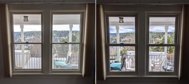 Lead, SD - This Lead, SD home upgraded their windows to our 5 Star Energy Efficient Fibrex Windows!