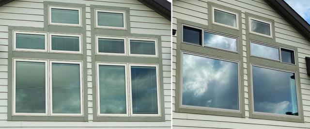 Spearfish, SD - This Spearfish, SD home upgraded their windows to our 5 Star Energy Efficient Fibrex Windows!