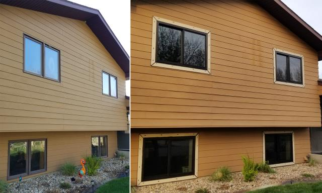 Pierre, SD - This Pierre, SD home upgraded their windows to our 5 Star Energy Efficient Fibrex Windows!