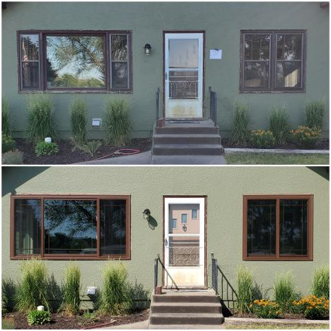 Pierre, SD - Gorgeous upgrade done with our RbA Fibrex® windows in Pierre!