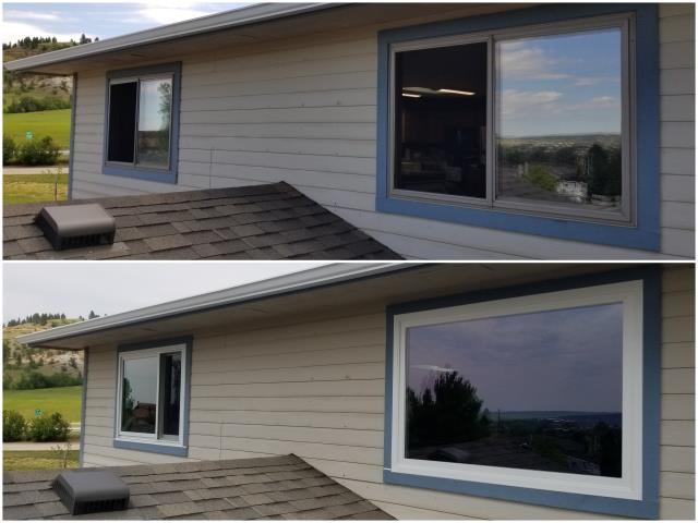 Spearfish, SD - Beautiful RbA Fibrex® windows put in! Install done in Spearfish!