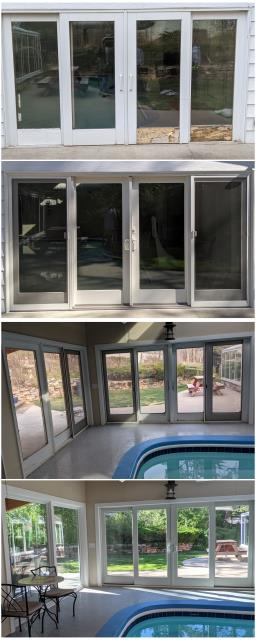Rapid City, SD - WOW! What an amazing transformation our RbA Fibrex® windows and French door have done! Install done in Rapid City.