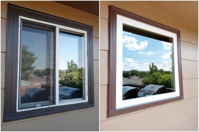 Black Hawk, SD - Great upgrade done with our RbA Fibrex® window in Black Hawk!