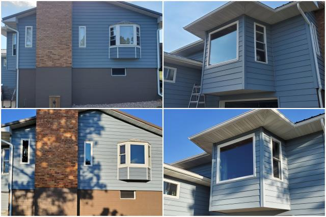 Belle Fourche, SD - Amazing install done with our RbA Fibrex® windows in Belle Fourche!