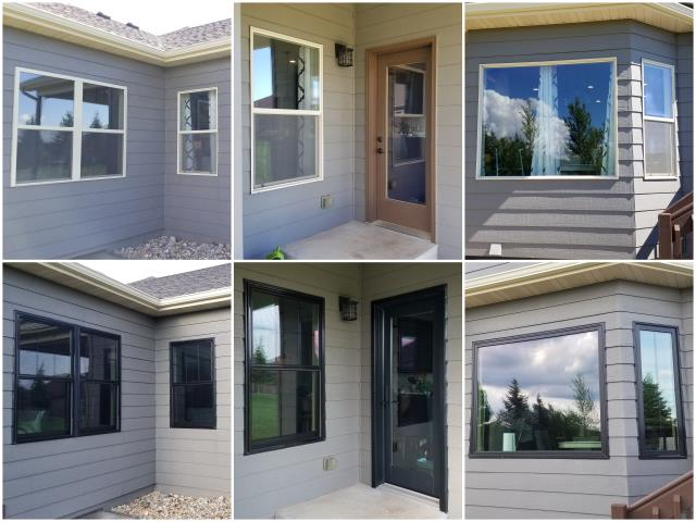 Rapid City, SD - WOW! Look at those beautiful RbA Fibrex® windows! Install done in Rapid City.