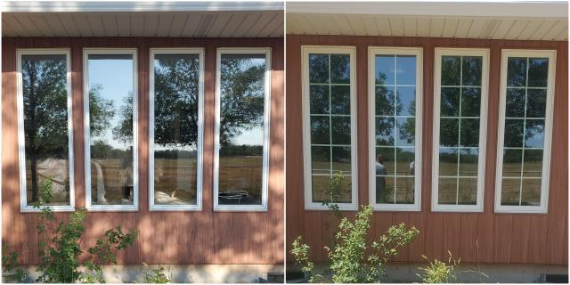 Pierre, SD - These folks in Pierre upgraded their old windows to our RbA Fibrex® windows!