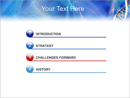 ДНК Шаблоны презентаций PowerPoint - Слайд 3