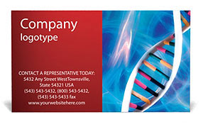 DNA Business Card Template
