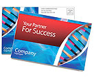 DNA Postcard Template