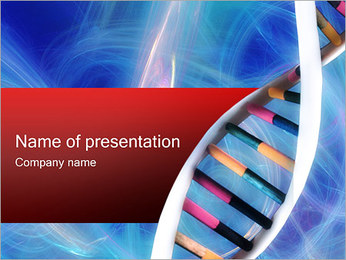DNA PowerPoint presentationsmallar