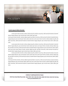 Stewardess Letterhead Template