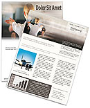 Stewardess Newsletter Template