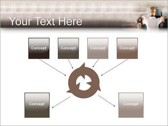Стюардесса Шаблоны презентаций PowerPoint - Слайд 10