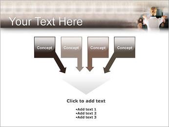 Стюардесса Шаблоны презентаций PowerPoint - Слайд 8
