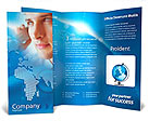 Telecommunication Brochure Template