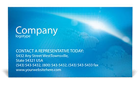 Telecommunication Business Card Templates