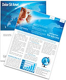 Telecommunication Newsletter Template
