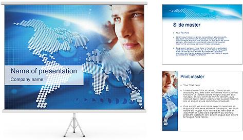 Telecomunicación Plantillas de Presentaciones PowerPoint