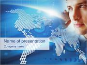 Telecommunication PowerPoint Template
