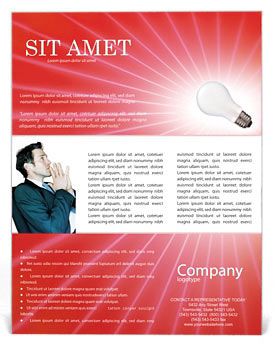 Lamp Flyer Templates