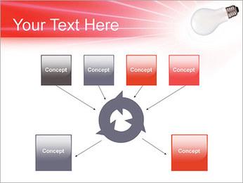 Лампа Шаблоны презентаций PowerPoint - Слайд 10