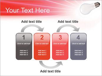 Лампа Шаблоны презентаций PowerPoint - Слайд 11