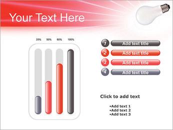 Лампа Шаблоны презентаций PowerPoint - Слайд 18