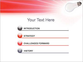 Лампа Шаблоны презентаций PowerPoint - Слайд 3