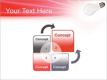Лампа Шаблоны презентаций PowerPoint - Слайд 5