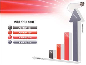 Лампа Шаблоны презентаций PowerPoint - Слайд 6
