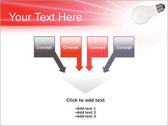 Лампа Шаблоны презентаций PowerPoint - Слайд 8