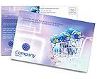 Электронной коммерции Почтовые открытки