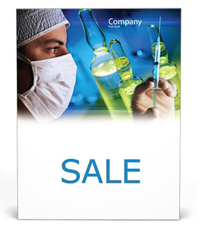 Preparing syringe Poster Template