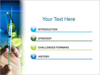 Preparación de la jeringa Plantillas de Presentaciones PowerPoint - Diapositiva 3