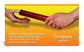 Baton Business Card Templates