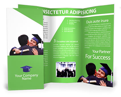 Graduation Brochure Templates