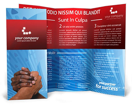 Partnership Brochure Template
