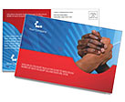 Partnership Postcard Template