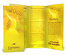 Year 2008 Brochure Templates
