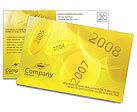 Year 2008 Postcard Template