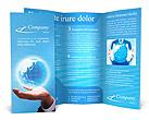 Crystal Globe Brochure Templates