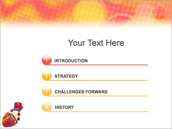 Heart Model PowerPoint Template - Slide 3