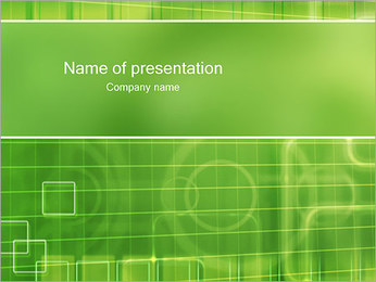 Green Abstract I pattern delle presentazioni del PowerPoint