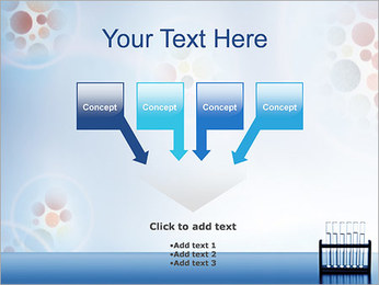 Tubes à essai Modèles des présentations  PowerPoint - Diapositives 8